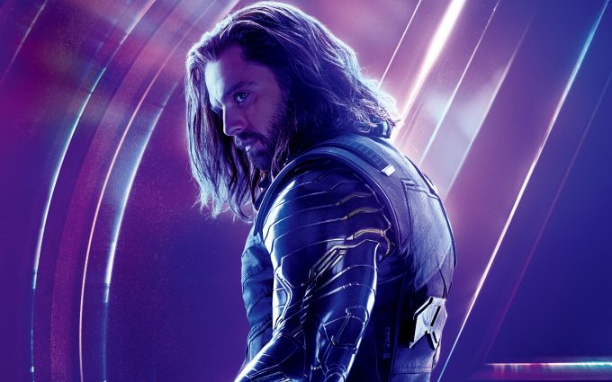 Avengers Infinity War 2018 Winter Soldier 8K Ultra HD