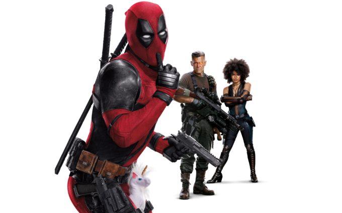 Deadpool 2018 Deadpool Cable Domino 8K Ultra HD