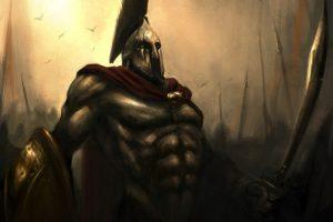 Leonidas ready for battle (300 Comics) HD