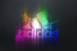 Adidas Colorful Logo 01