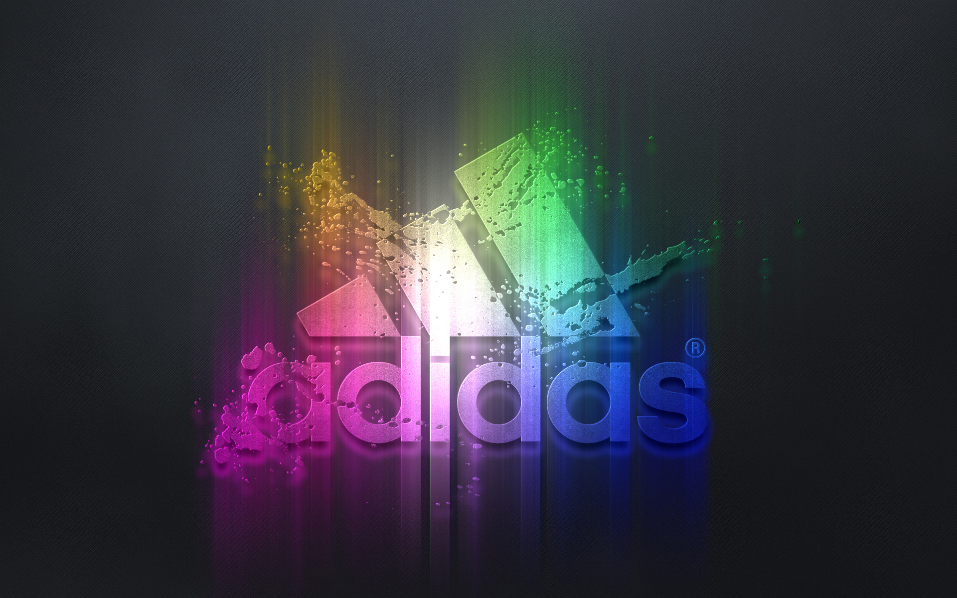 Adidas Colorful Logo HD