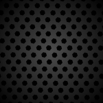 Black Hexagon Pattern