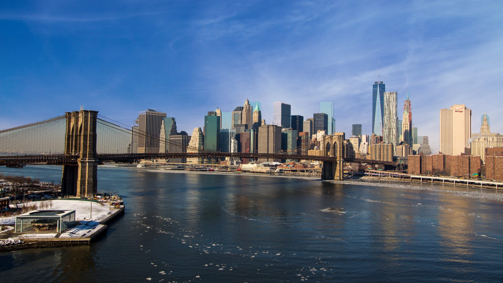 Brooklyn Bridge New York City 5k Uhd Wallpaper