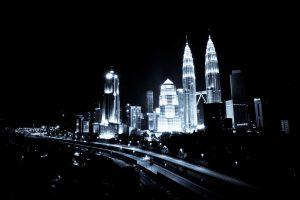 Kuala Lumpur At Night 01