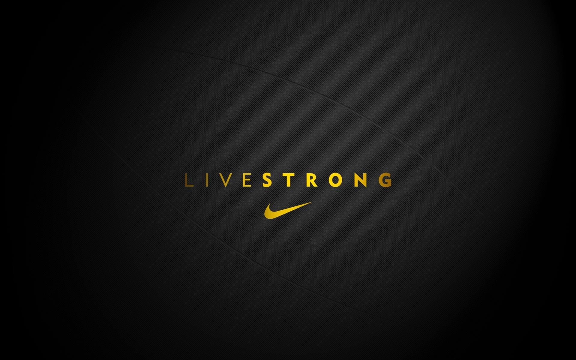 Nike Livestrong Logo Hd Wallpaper