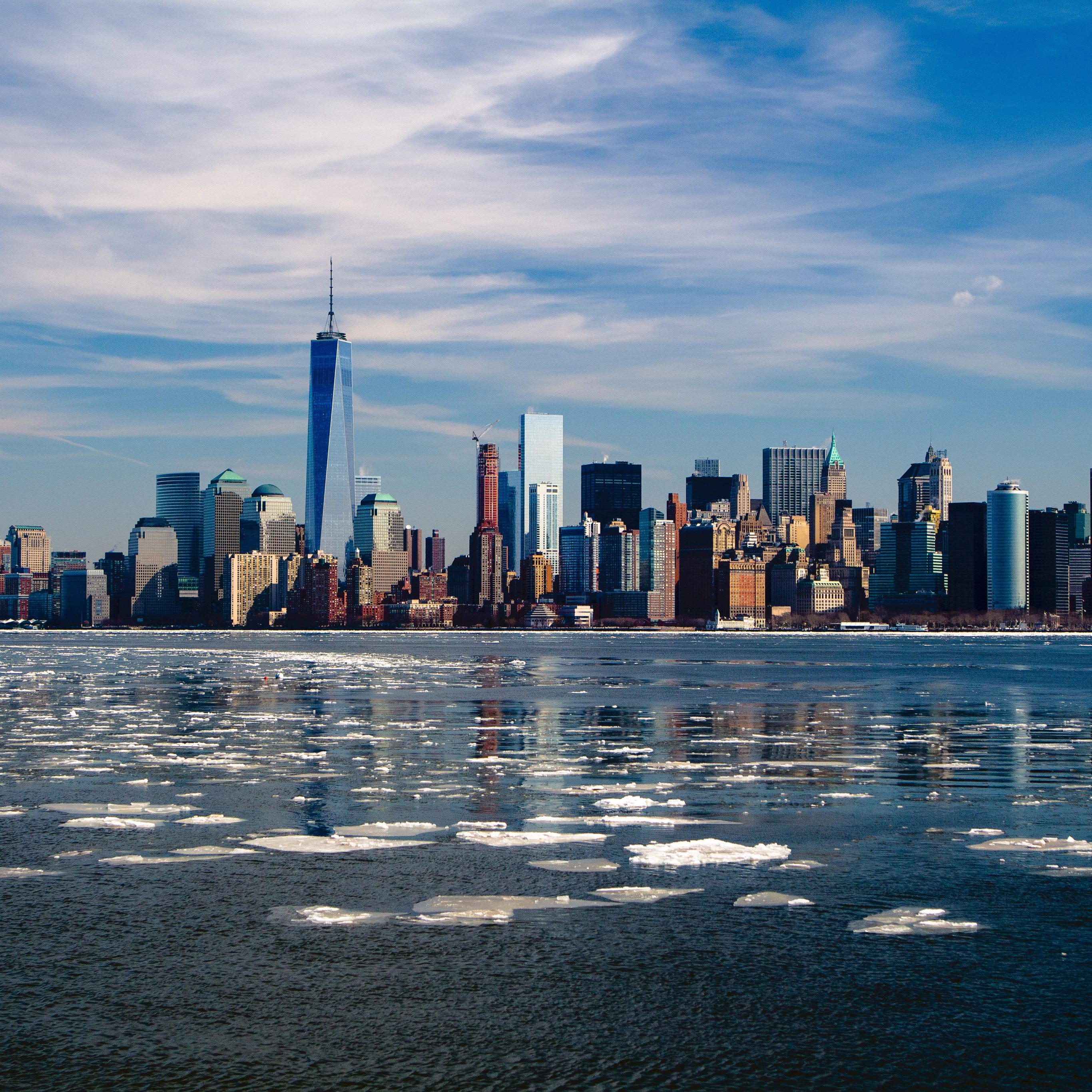 Lower Manhattan (New York City) 5K UHD Wallpaper