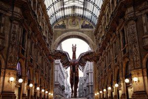 Pegasus Statue 01 – Galleria Vittorio Emanuele II 4K
