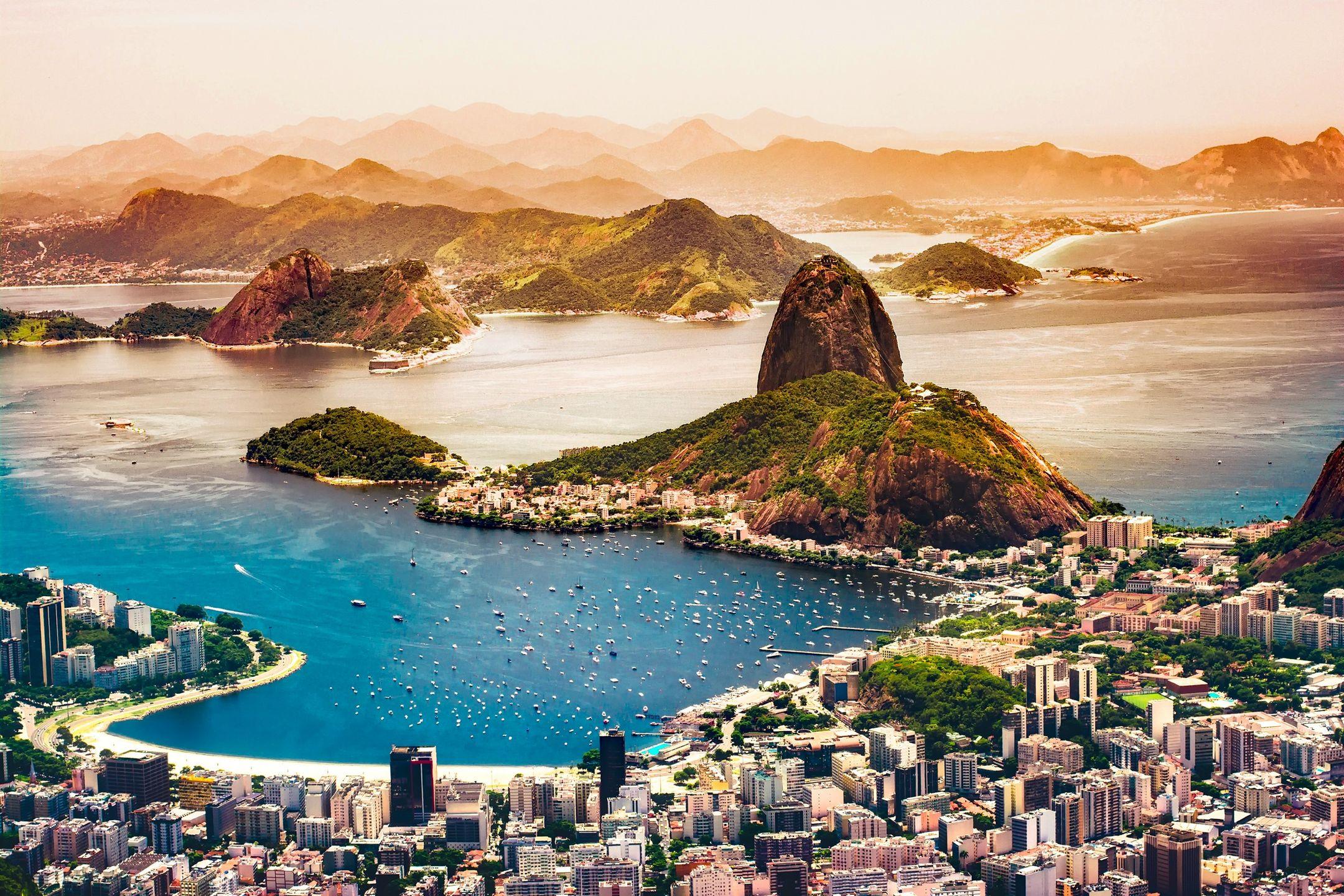 Rio De Janeiro From Above HD Wallpaper HD Wallpaper