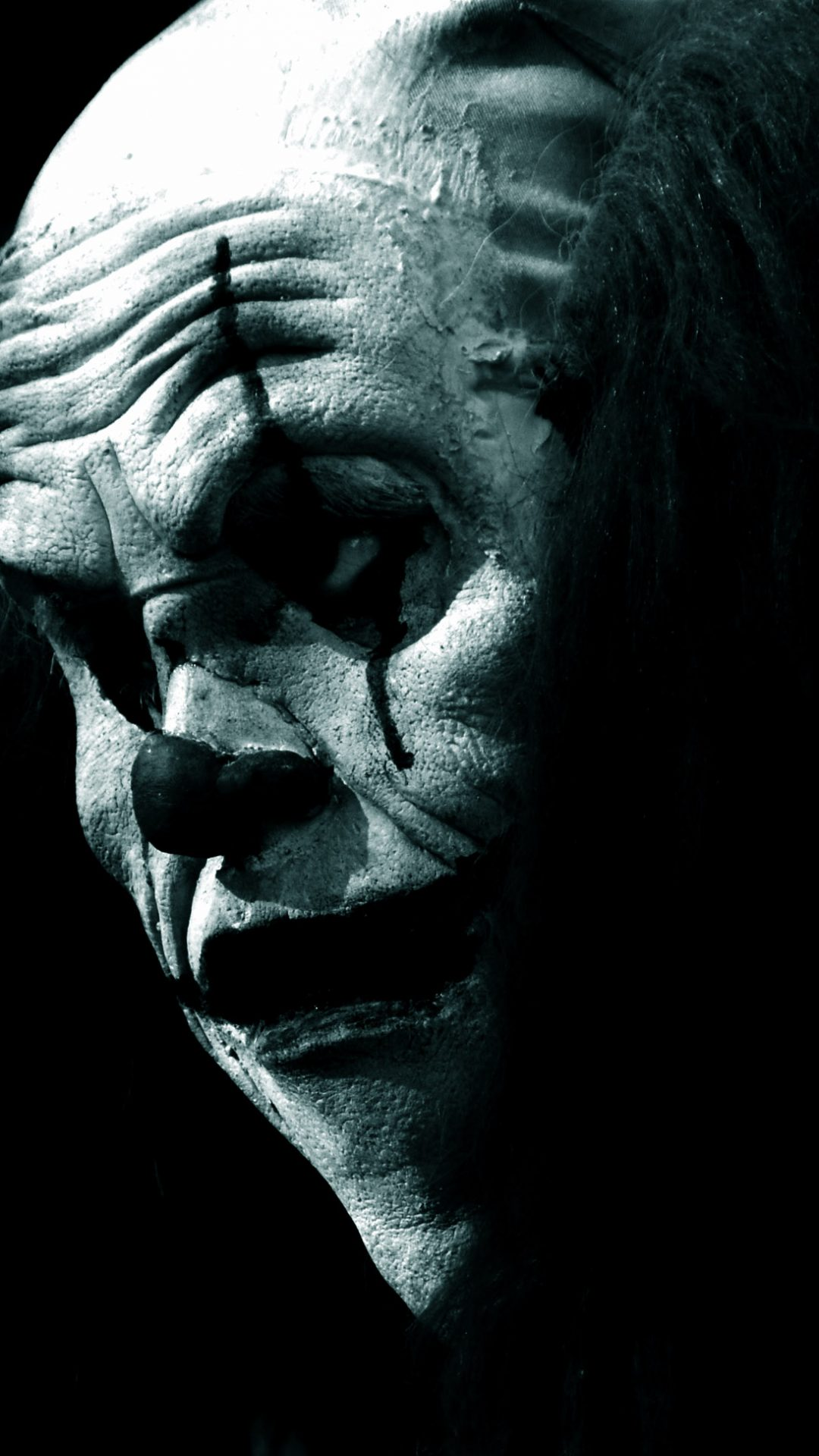 Scary clown in the dark hd wallpaper - Sad man hd wallpaper ...