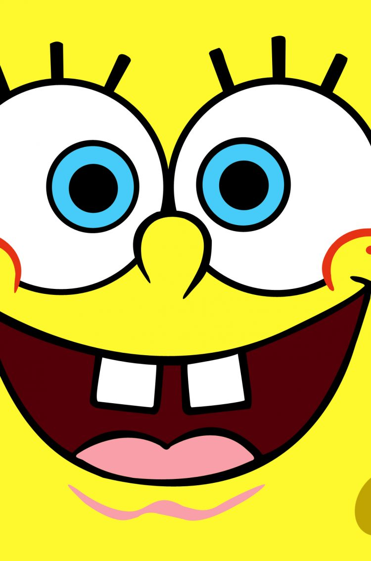 Spongebob Smiley Face HD Wallpaper