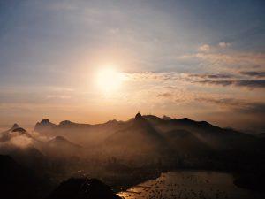 Sunset at Rio de Janeiro HD