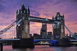 Tower Bridge At Sunset (London) HD