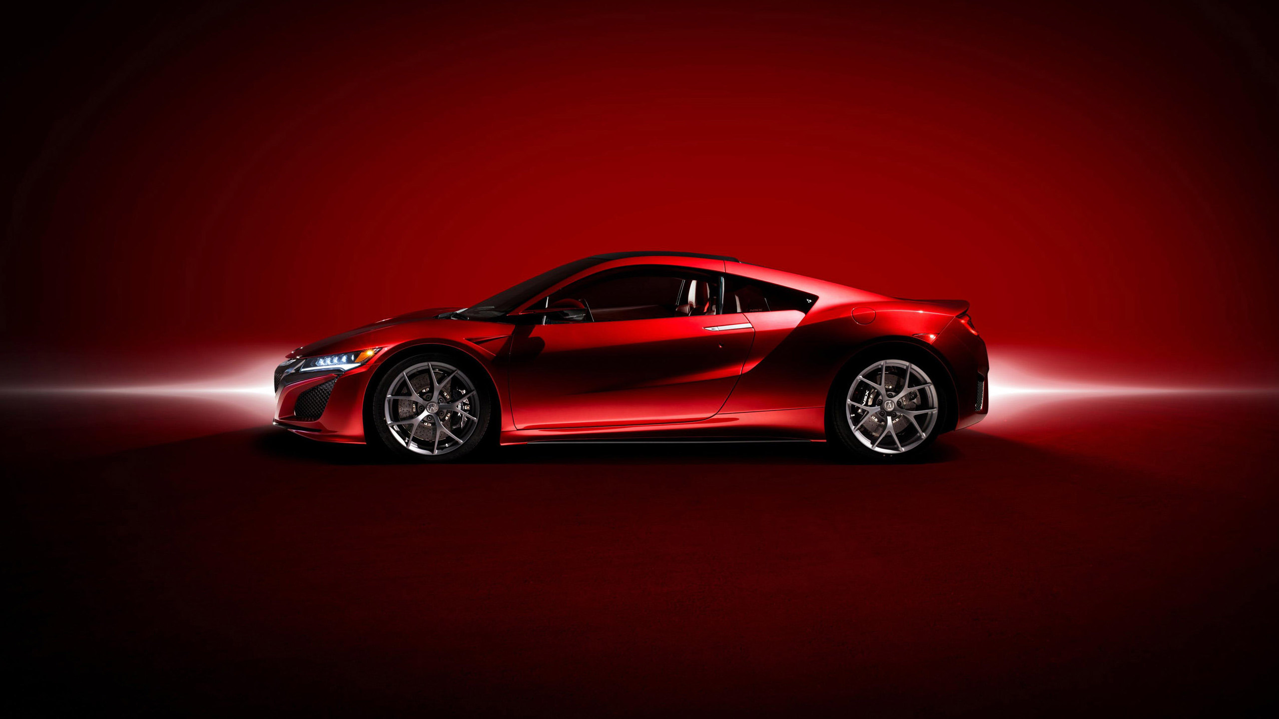 acura nsx 2017 01  red  hd wallpaper