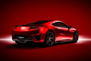 Acura Nsx 2017 02 (RED) HD