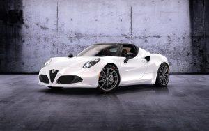 Alfa Romeo 4C Spider Prototype 2014 01 (White) HD