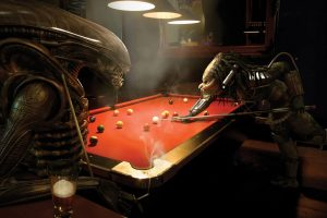 Alien vs Predator AVP Billiards