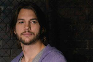 Ashton Kutcher With A Beard