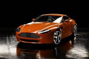 Aston Martin v8 Vantage n400 01 (Dark Orange) HD