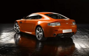 Aston Martin v8 Vantage n400 02 (Dark Orange) HD