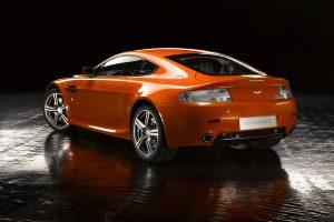 Aston Martin v8 Vantage n400 02 (Dark Orange) HD