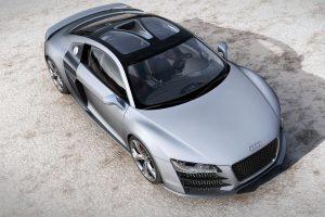 Audi R8 V12 TDI Concept 01 (Silver) HD