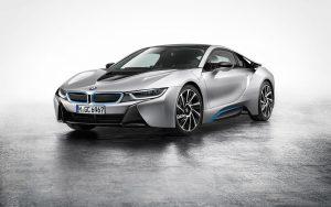 BMW i8 2015 01 (Silver) HD