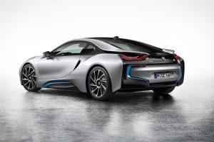 BMW i8 2015 02 (Silver) HD
