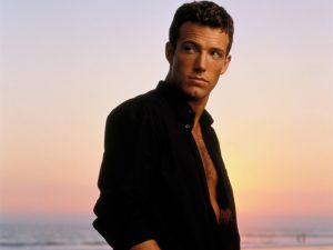 Ben Affleck in front of a sunset HD