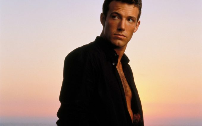Ben Affleck In Front Of A Sunset