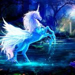 Blue Pegacorn
