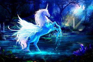 Blue Pegacorn HD