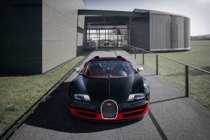 Bugatti Veyron Grand Sport Vitesse (Black & Red) HD