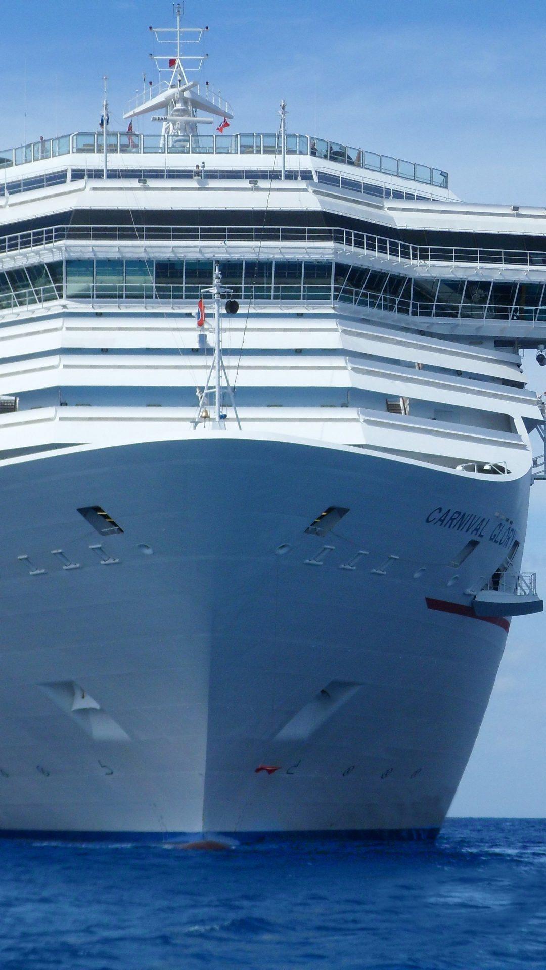 Carnival Glory Cruise Ship 4k Uhd Wallpaper Hd Wallpaper