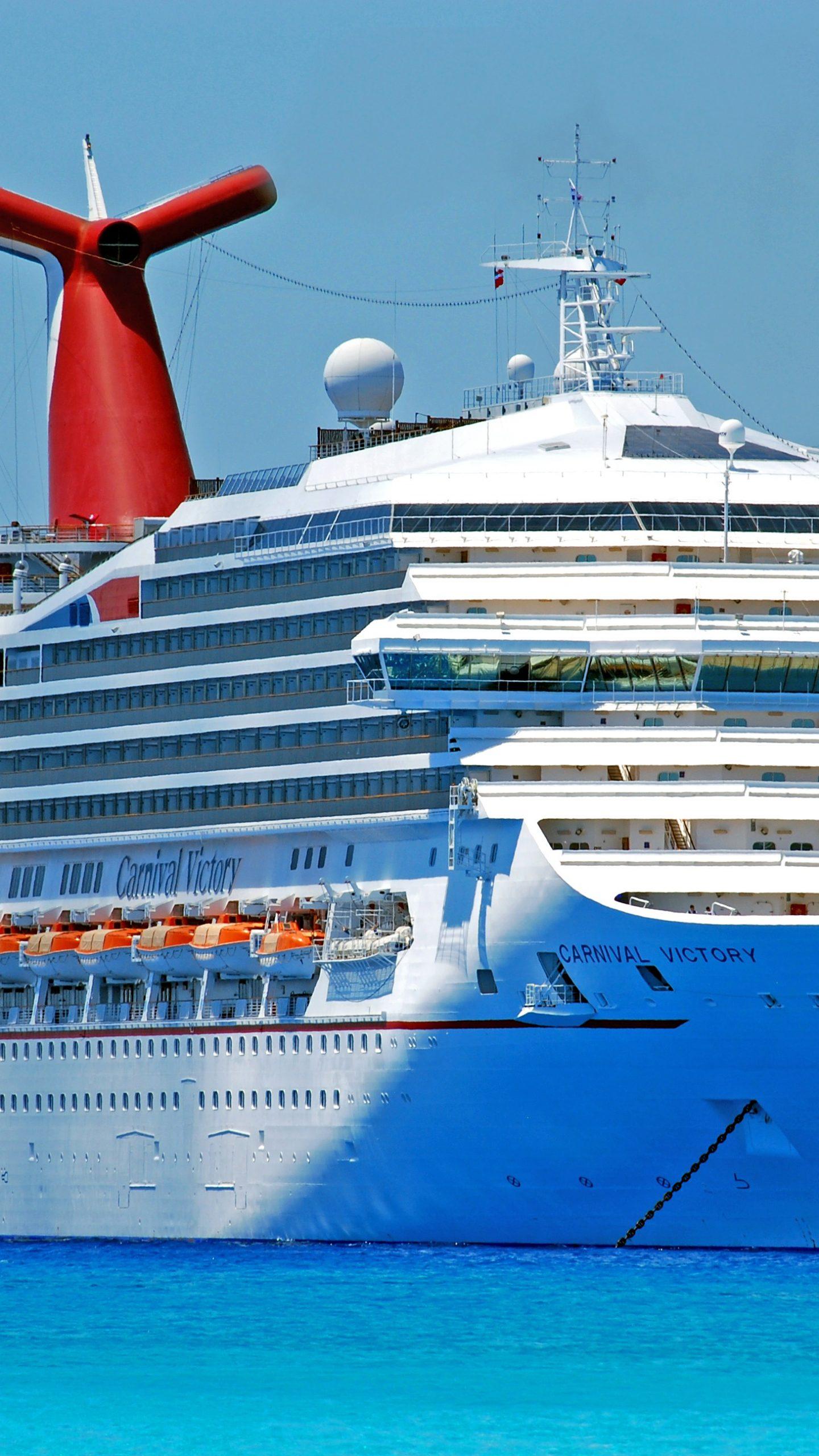 Carnival Victory Cruise Ship 4k Uhd Wallpaper