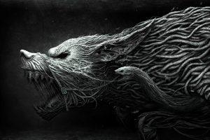 Dark Gray Werewolf HD