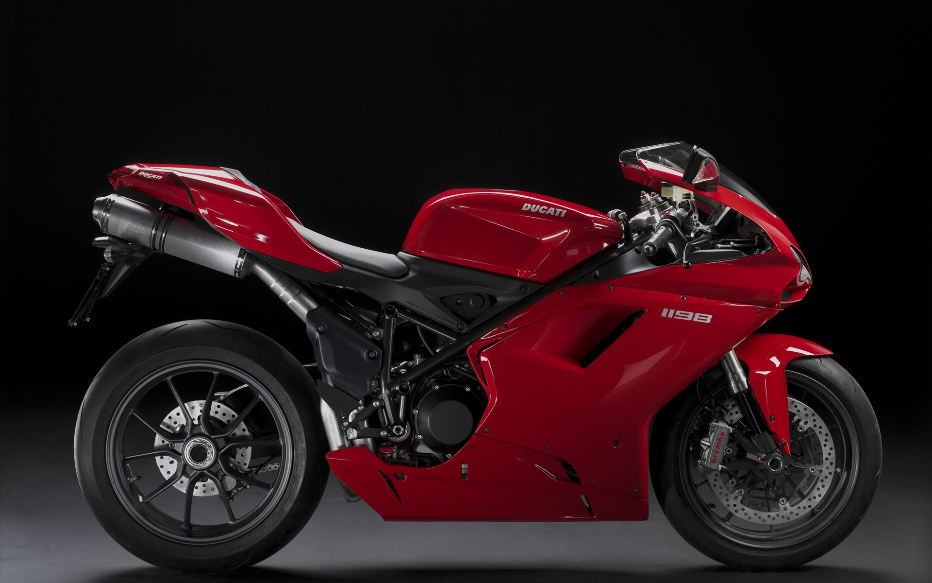 ducati superbike 1198 (red) hd wallpaper | wallpapers.gg