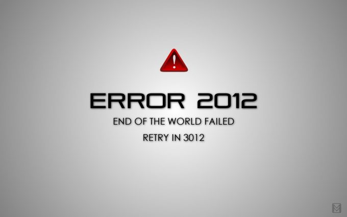 Error 2012 End Of The World Failed Retry In 3012