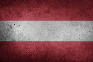 The Flag of Austria (Grunge) HD