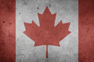 "The Flag of Canada ""Maple Leaf"" (Grunge) HD"