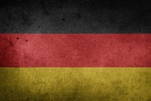 The Flag of Germany (Grunge) HD