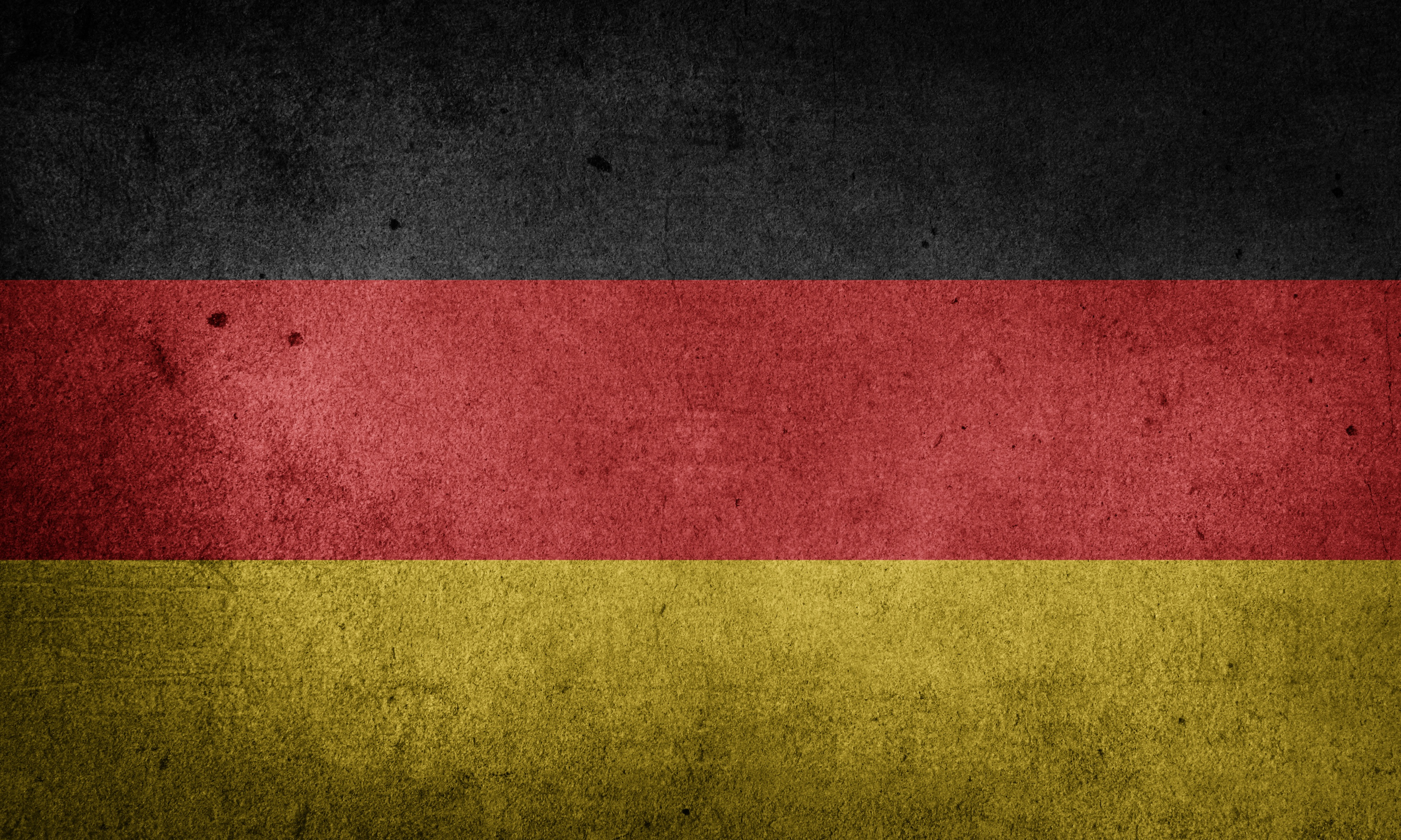 The Flag Of Germany Grunge HD