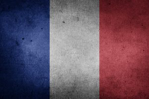 "The flag of France ""French Tricolour"" (Grunge) HD"