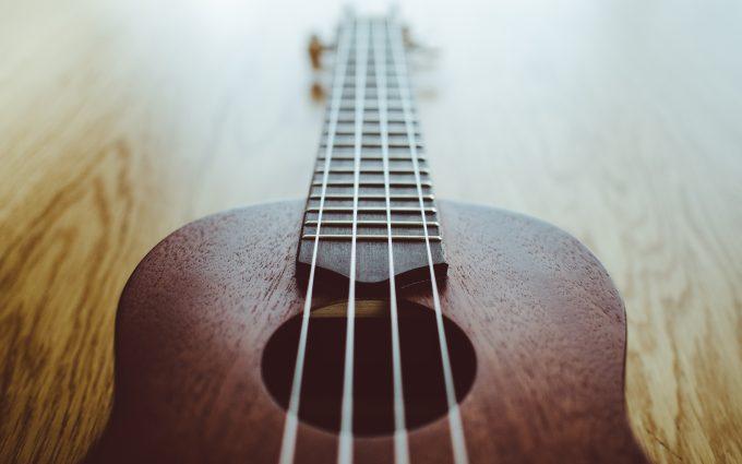 Guitar On The Floor