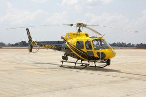 Helicopter DETRAN DF PR EBQ Eurocopter AS350 Écureuil