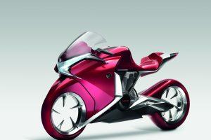 Honda V4 Concept (Candy Red) HD