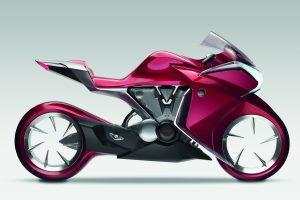 Honda V4 Concept Red Pink