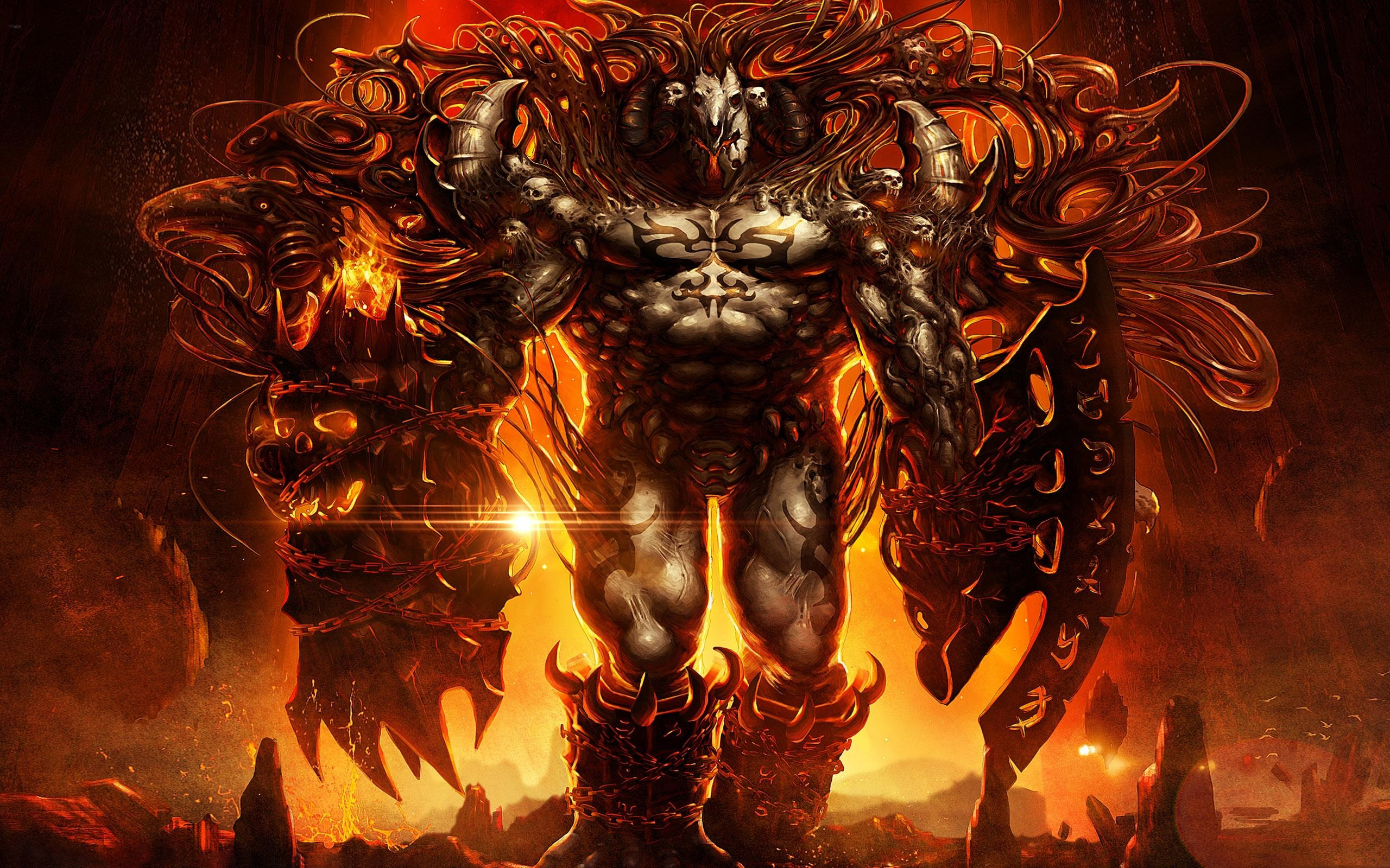 Infernal demon HD Wallpaper