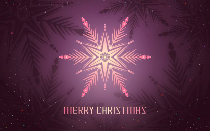 Merry Christmas Pink