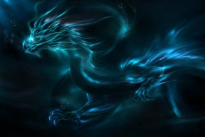 Mystical Blue Dragon HD