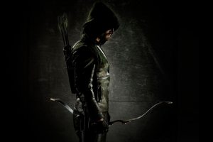 Oliver Queen in the dark (Arrow) HD